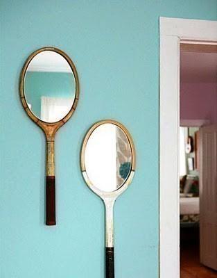 Настенное зеркало своими руками.