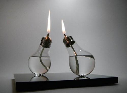 что можно сделать из старой лампочки
