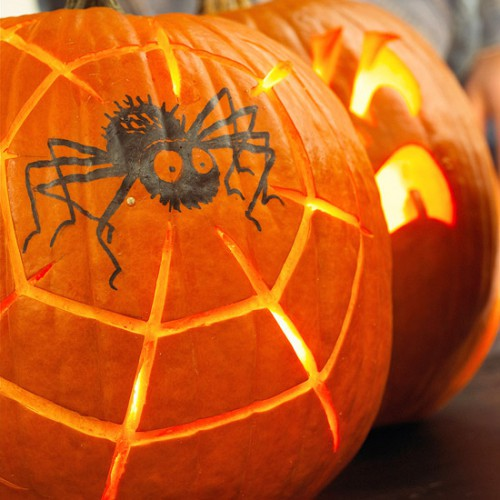 Украшение на Хэллоуин - что сделать из тыквы (16)
