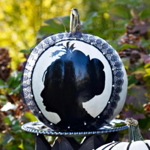 Украшение на Хэллоуин - что сделать из тыквы (6)
