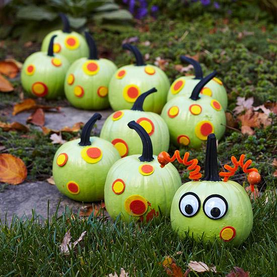 Украшение на Хэллоуин - что сделать из тыквы (1)