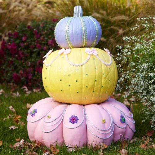 Украшение на Хэллоуин - что сделать из тыквы (4)