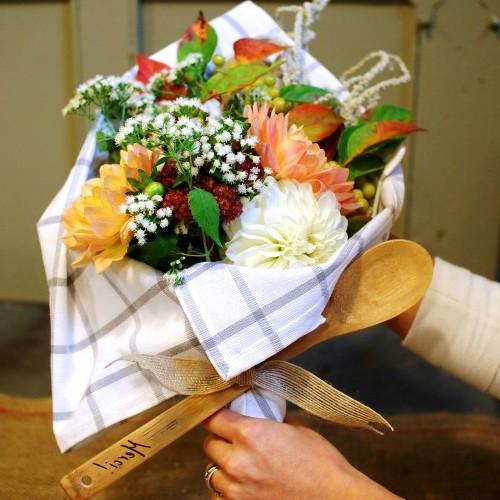 Как делать букеты - как сделать букет из цветов (9)
