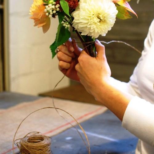Как делать букеты - как сделать букет из цветов (5)