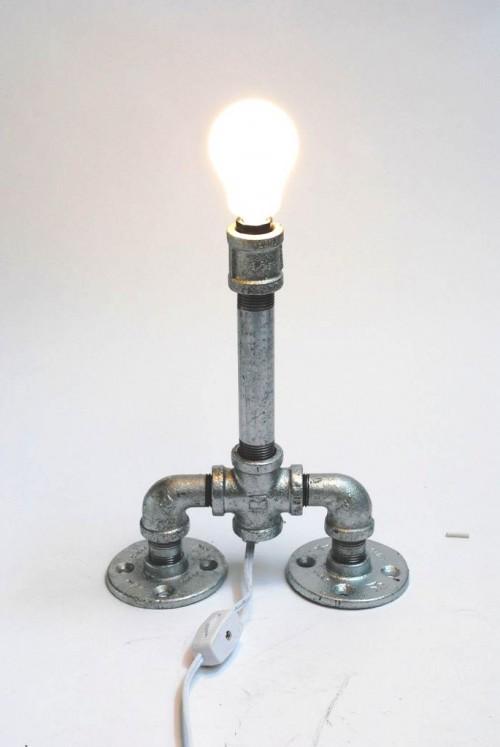 Как сделать лампу - настольная лампа своими руками (8)