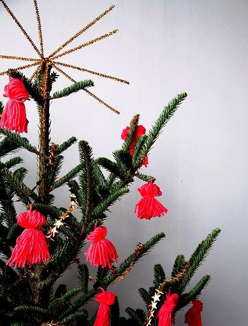 Как украсить елку - самодельные игрушки на елку (2)