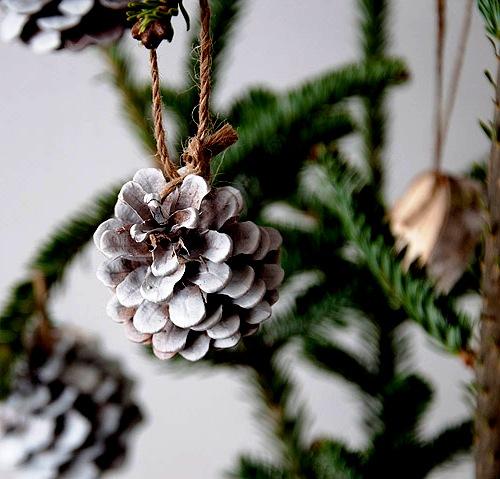 Как украсить елку - самодельные игрушки на елку (4)