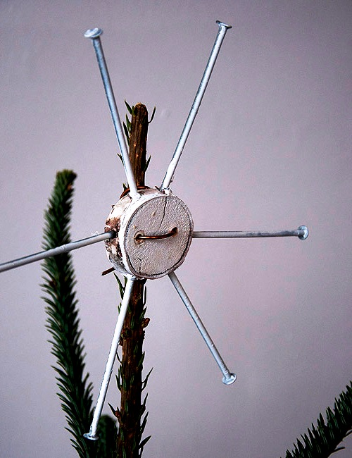 Как украсить елку - самодельные игрушки на елку (5)
