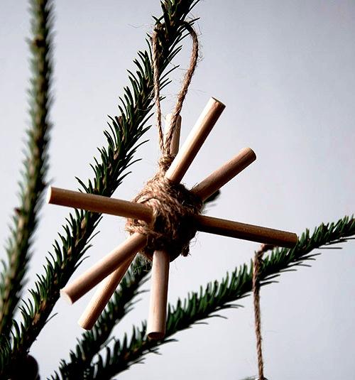 Как украсить елку - самодельные игрушки на елку (8)