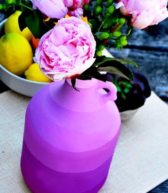 Декор дома своими руками - ваза из бутылки своими руками (6)