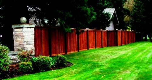 Как сделать забор - поделки для дачи (1)