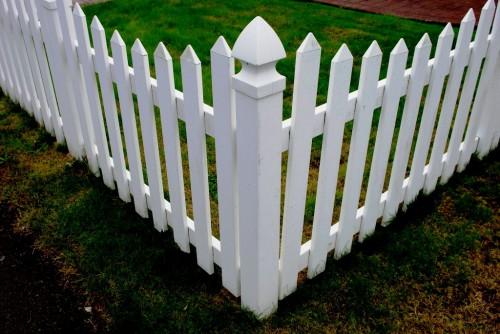 Как сделать забор - поделки для дачи (7)