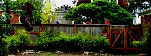 Как сделать забор - поделки для дачи (10)