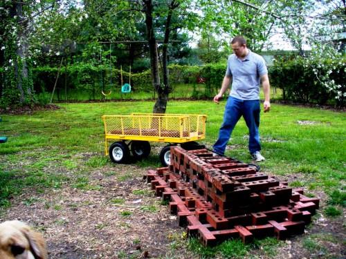 Как сделать скамейку - лавочка своими руками (4)