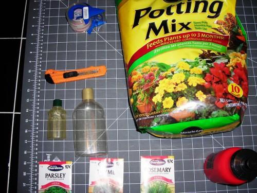 Рассада своими руками - поделки из пластиковых бутылок (2)