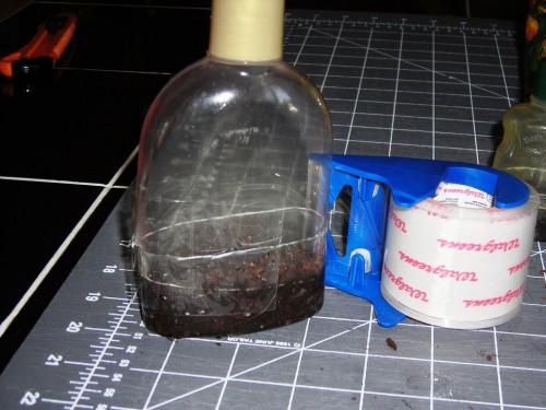 Рассада своими руками - поделки из пластиковых бутылок (9)