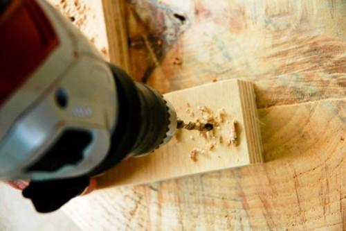 Как сделать журнальный стол - дачный стол своими руками (10)