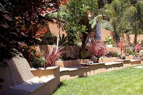 Идеи для сада - вертикальные планировки участка (2)