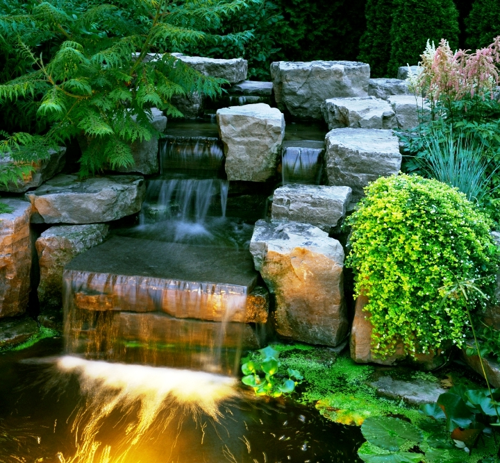 зависимости обстоятельств, красивый водопад в саду фото мрамор