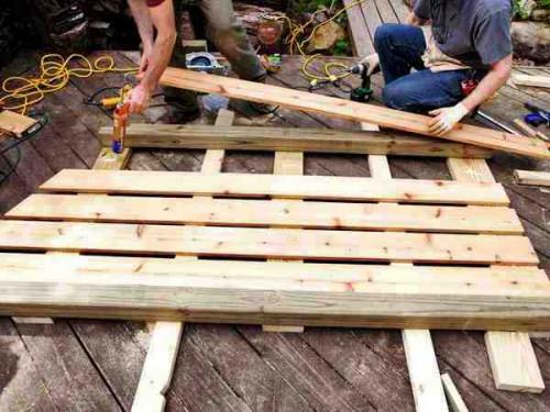 Навес для дров своими руками - как самому сделать навес (4)