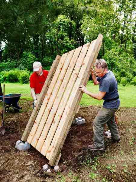 Навес для дров своими руками - как самому сделать навес (6)