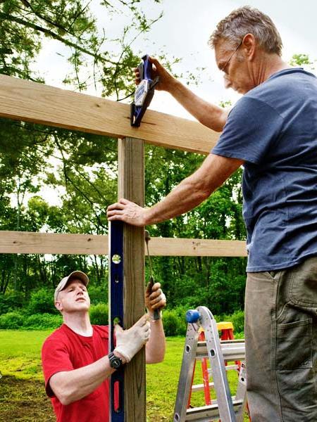 Навес для дров своими руками - как самому сделать навес (8)
