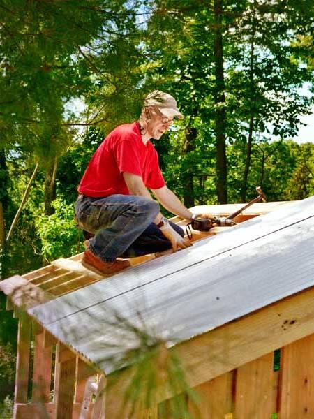 Навес для дров своими руками - как самому сделать навес (11)