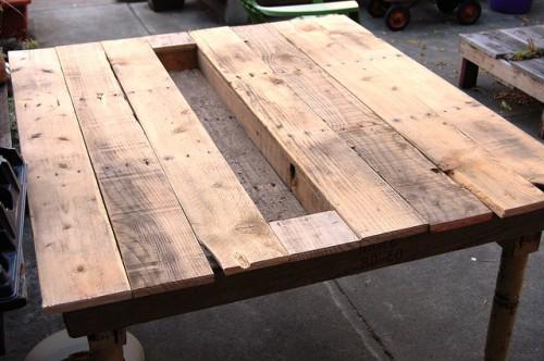 Обеденный стол своими руками - как сделать мебель самому (5)
