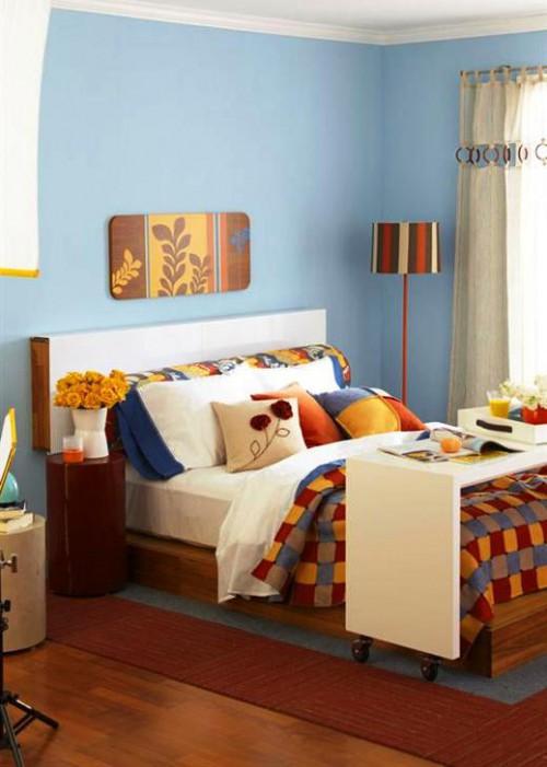 Оформление комнаты своими руками - как украсить спальню (1)