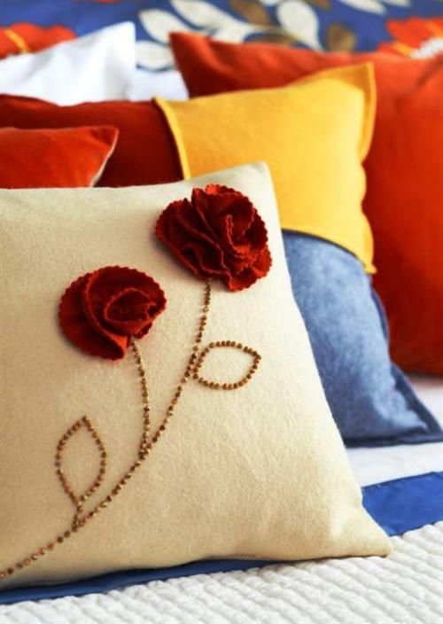 Оформление комнаты своими руками - как украсить спальню (2)