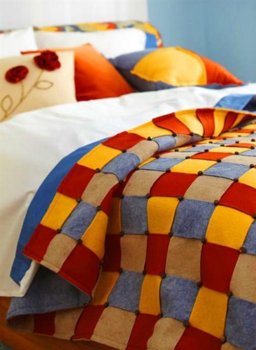 Оформление комнаты своими руками - как украсить спальню (14)