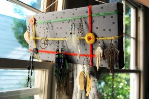 Подставка для сережек - держатель своими руками (1)