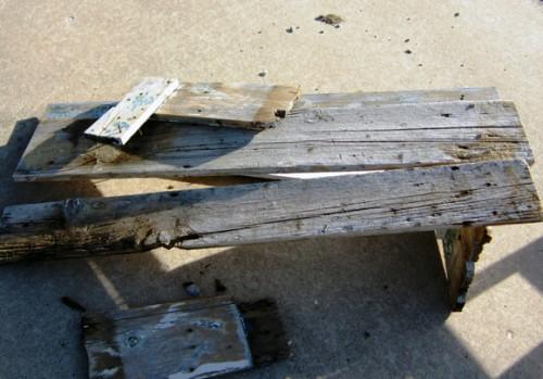 Скамейка своими руками - скамейка для дачи (2)