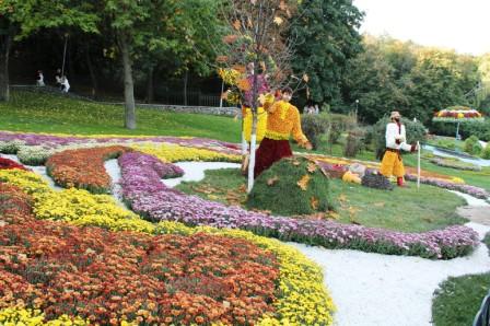 Создание цветников - цветник своими руками (4)