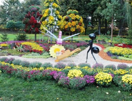 Создание цветников - цветник своими руками (6)