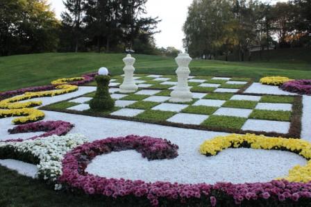 Создание цветников - цветник своими руками (9)