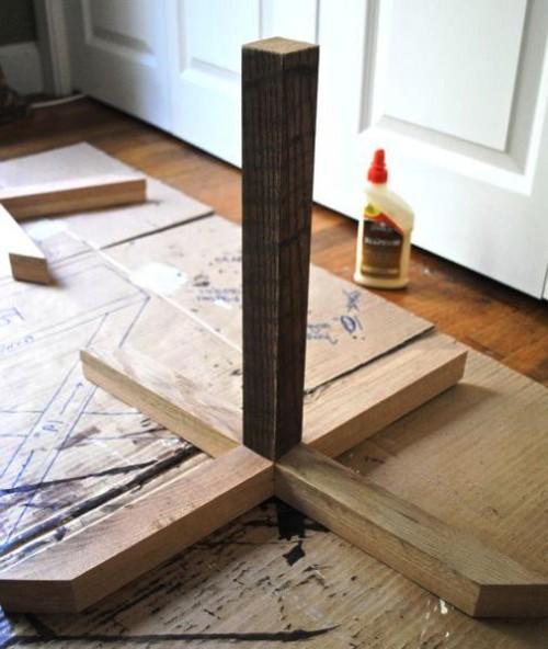 Табуретка своими руками - изготовление табурета (7)