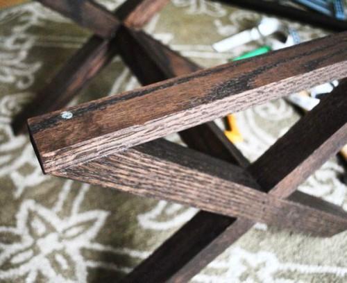 Табуретка своими руками - изготовление табурета (9)
