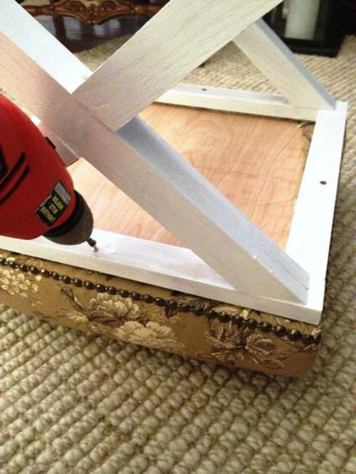 Табуретка своими руками - изготовление табурета (16)
