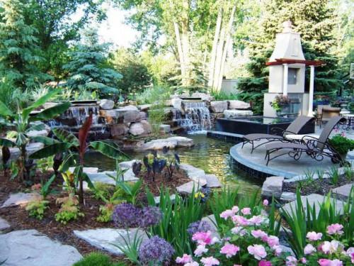 Дизайн дворика - сделать патио (1)