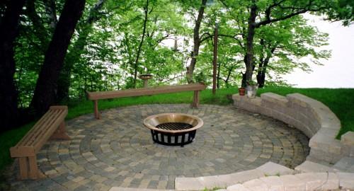 Дизайн дворика - сделать патио (6)