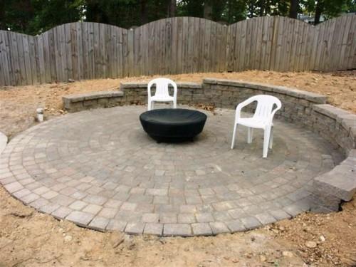 Дизайн дворика - сделать патио (16)
