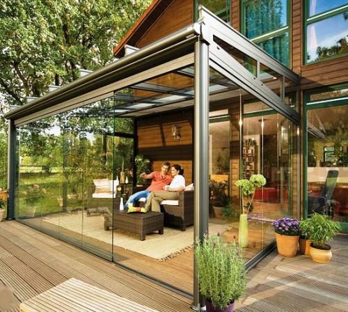 Дизайн дворика - сделать патио (19)