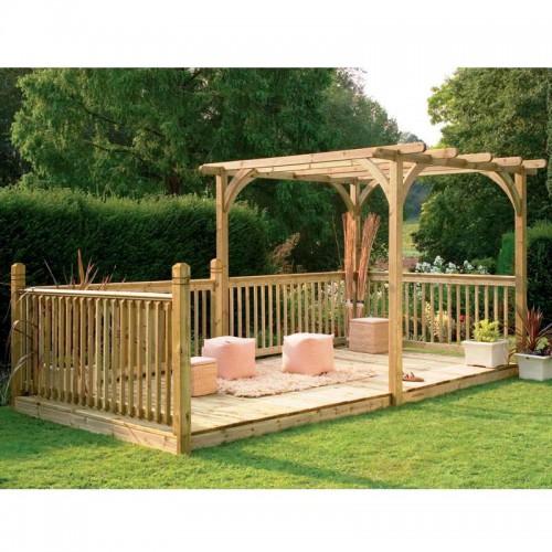 Дизайн дворика - сделать патио (24)