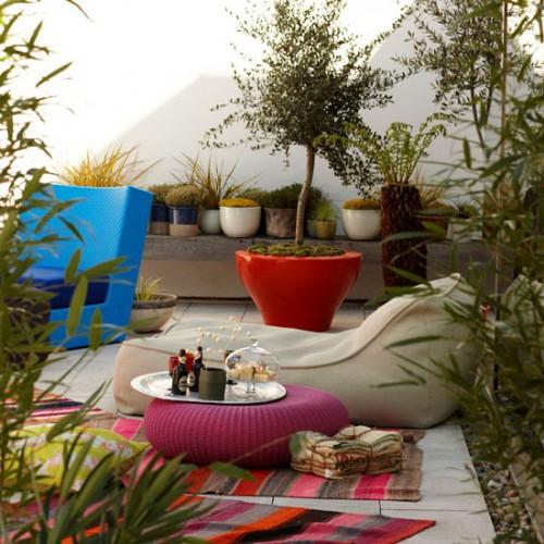 Дизайн дворика - сделать патио (26)