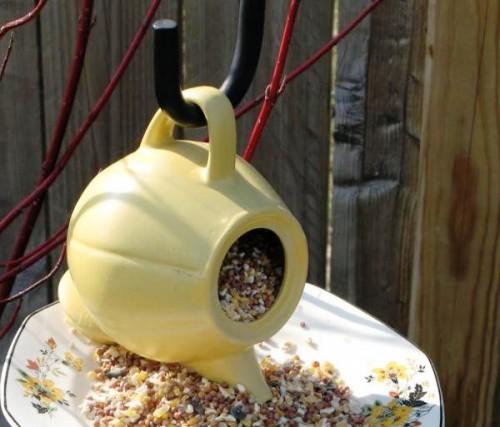 Как сделать кормушку для птиц своими руками - идеи (8)