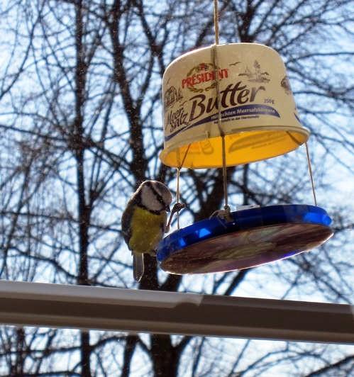 Как сделать кормушку для птиц своими руками - идеи (10)