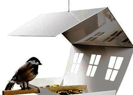 Как сделать кормушку для птиц своими руками - идеи (13)