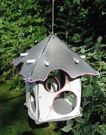 Как сделать кормушку для птиц своими руками - идеи (15)