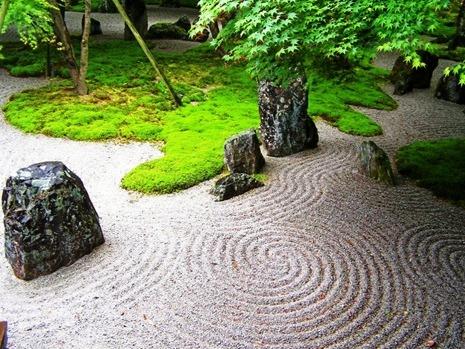 Японский сад камней - фото японского сада (3)